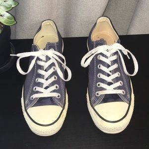 Navy Blue Converse Shoes